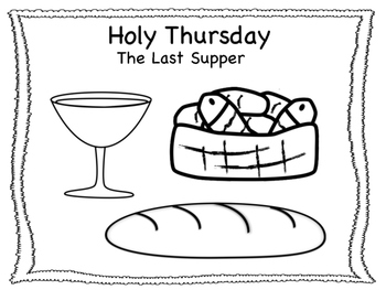 Holy Week/Easter Coloring Pages