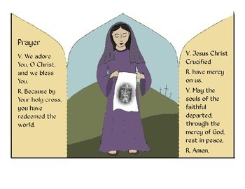 Holy Week/ Easter/ Good Friday Craft- Veronica Wipes the Face of Jesus