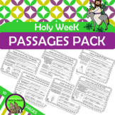 Holy Week {Easter} Informational Text and Comprehension Checks