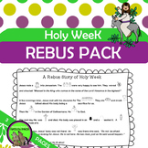 Holy Week {Easter} Rebus Story with Key and Questions