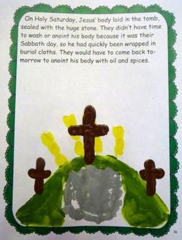 Holy Week In Handprints