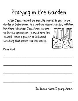 Holy Week Journal