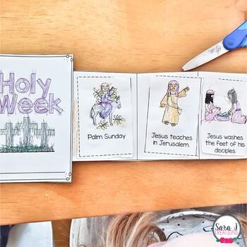 Holy Week Mini Book