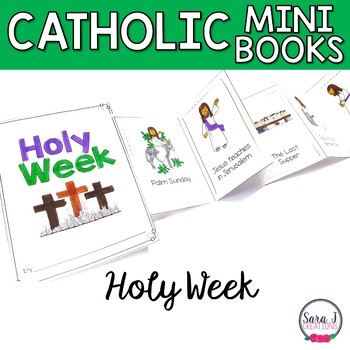 Holy Week Mini Book