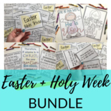 Holy Week, Palm Sunday, & Easter Lessons + Activities for