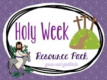 Holy Week Resource Pack