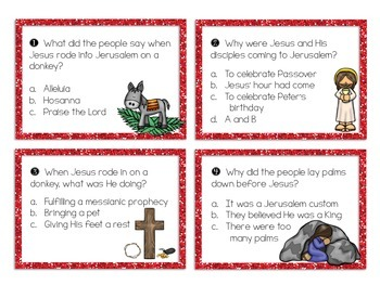 Holy Week Task Cards