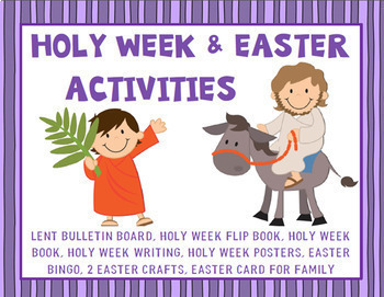 photograph relating to Holy Week Activities Printable known as Holy 7 days Printable Worksheets Academics Fork out Academics