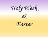 Holy Week and Easter Activities (Religious)