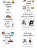 Hombre Mosca - 14 Libros - Paquetes de Vocabulario y Comprensión