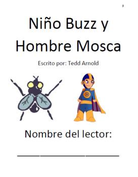 Hombre Mosca conoce a Chica Mosca y Niño Buzz y Hombre Mosca Vocab + Comprensión