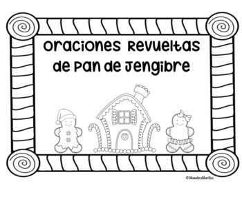Hombrecito de Pan de Jengibre- Oraciones Revueltas