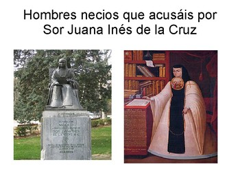 Hombres necios que acusáis por Sor Juana Inés de la Cruz