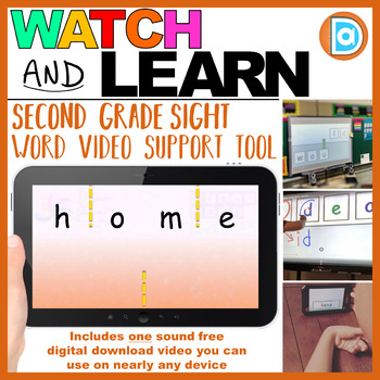 Home | 2nd Grade Sight Word Building Video | 4 Letter Word