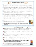 Home Activities Speech and OT