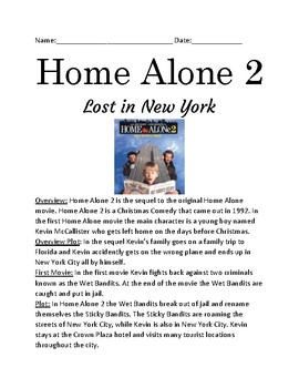 Home Alone 2 - Lost in New York movie overview facts information questions