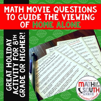 Math Movie Questions to Guide the Viewing of Home Alone