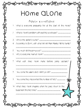 Home Alone Movie Questions ONLY