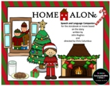 Home Alone Speech and Language Companion for the Storybook or Christmas Movie!