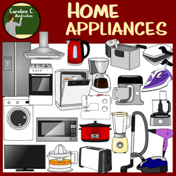 Home Appliances Clip Art