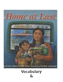 Home At Last Guided Questions and Vocabulary