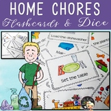 Home Chores Flashcards and Dice