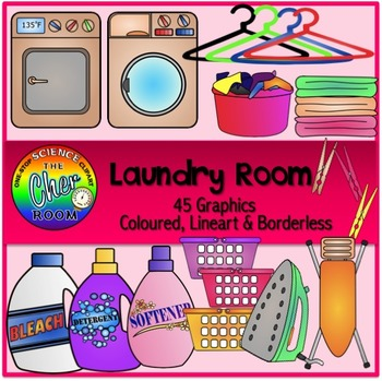 #AugTpTClipLove Home Clipart II (Patio, Laundry Room, Garage, Dining Room)