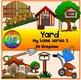 Home Clipart III (Yard, Nursery/Baby Room, Library/Study Room, Games Room)