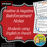 Home Communication Reinforcement Notes - Speaking French