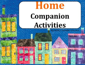 Home - Companion Activities for Speech & Language