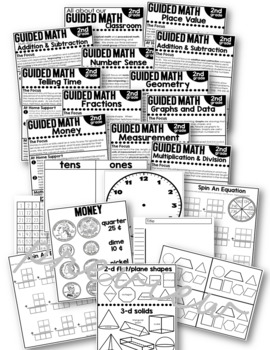 Home Connection Second Grade Guided Math