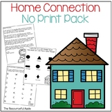 Home Connection for Pre-K and Kindergarten