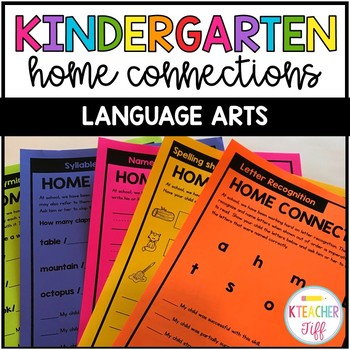 Home Connections: Language Arts