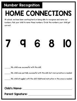 Home Connections: Math