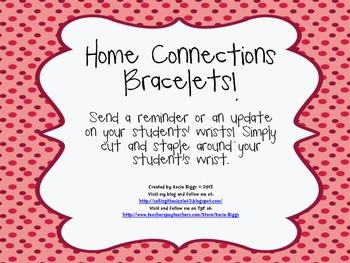 Home Connections bracelets