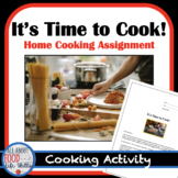 Distance Learning- Home Cooking: Students and Parents LOVE this Lesson!