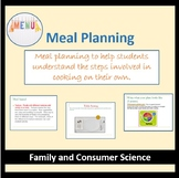 Meal Planning!