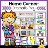 Home Corner Dramatic Play {Kitchen, Nursery, Office, Laundry}