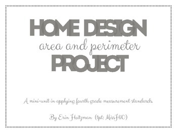 Home Design (area and perimeter) Project