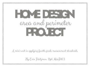 Home Design (area and perimeter) Project