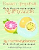 Home EC:  Passion Grapefruit Marmalade and Labels!