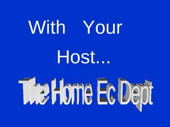 Home Economics/FACS Jeopardy