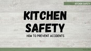 Home Economics Safety - Presentation