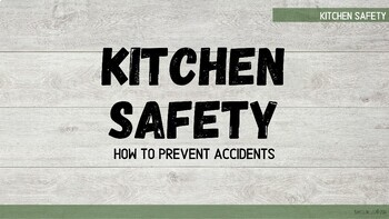 Home Economics Safety - Presentation