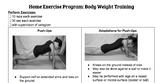Home Exercise Program Handouts