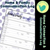 Home & Family Connection Communication Log - Violet