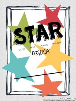 Home Folder Cover / Star Folder Cover