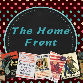 World War I: The Home Front PowerPoint