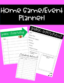 Home Game/Event Planner