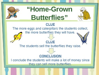 Home-Grown Butterflies - Treasures Reading Unit 2 - Drawing Conclusions